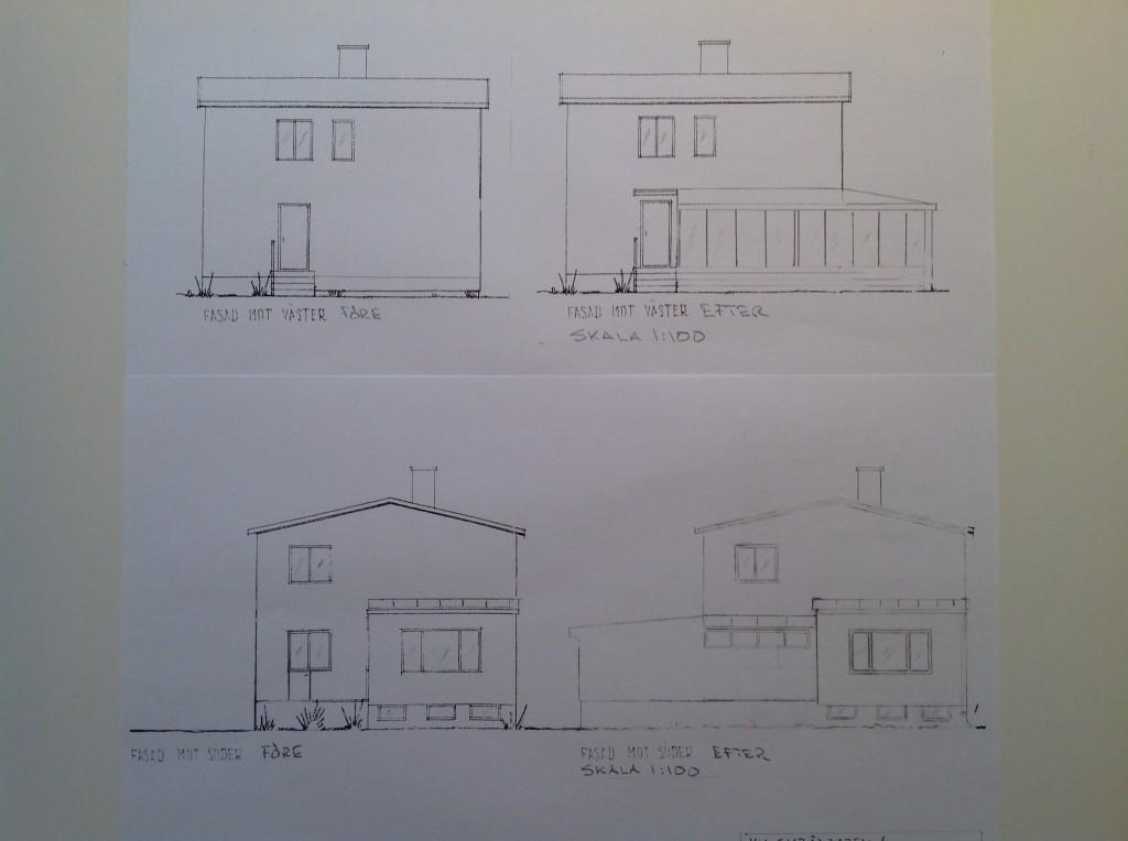 Bygglov uterum ritningar